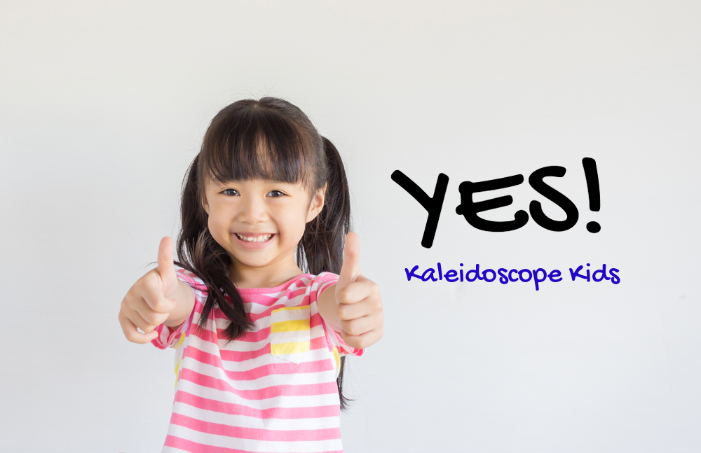 yes to kaleidoscope kids